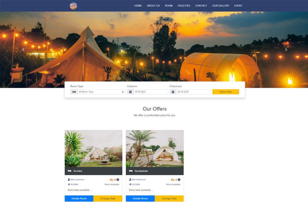 Website dan Booking Engine Hotel